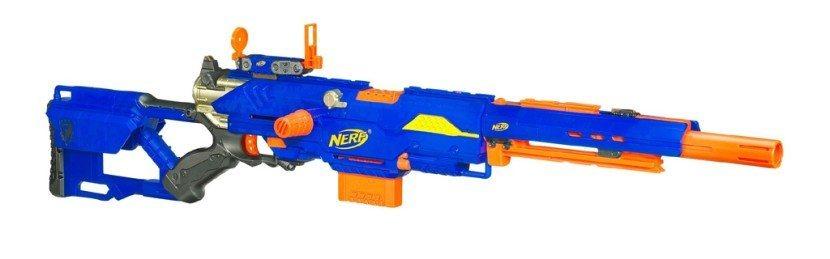 nerf longstrike cs 6 pistolet nerf. Black Bedroom Furniture Sets. Home Design Ideas