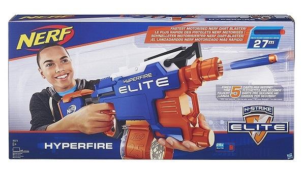 Hyperfire - Gamme N-Strike Elite - La boîte